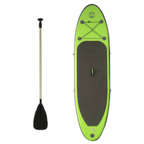 Outdoor Tuff 8ft Inflatable Stand Up Paddle Board  with paddle