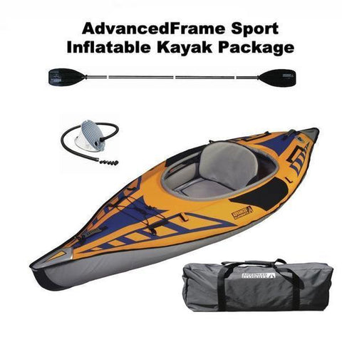 Advanced Elements AdvancedFrame Sport Inflatable Kayak Package