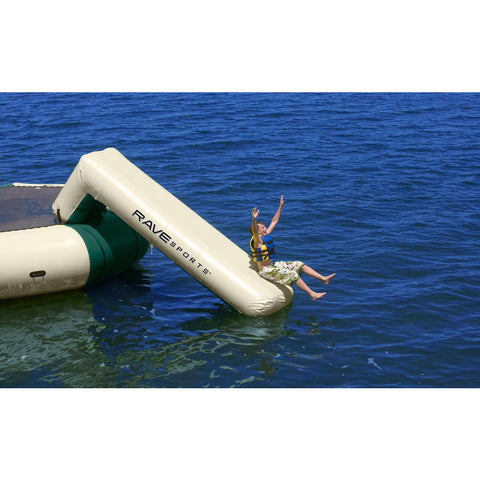 Rave Aqua Slide Water Trampoline Attachment - Water Park Attachment -  Rave - Splashy McFun Watersports