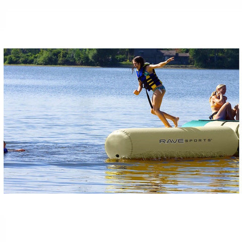Rave Aqua Log Small Water Trampoline Attachment - Water Park Attachment -  Rave - Splashy McFun Watersports
