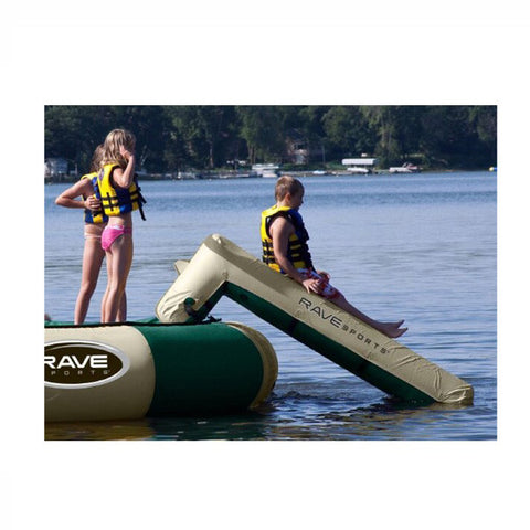 Rave Aqua Slide Small Water Trampoline Attachment - Water Park Attachment -  Rave - Splashy McFun Watersports