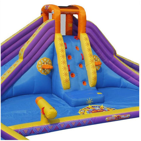 KidWise Aztec Falls Back to Back Water Park - Bounce House -  KidWise - Splashy McFun Watersports