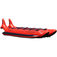 Island Hopper 10 Person Red Shark Banana Boat