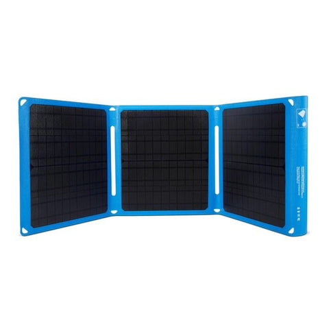 Bixpy SUN45 Waterproof Solar Panel Blue with black solar panels