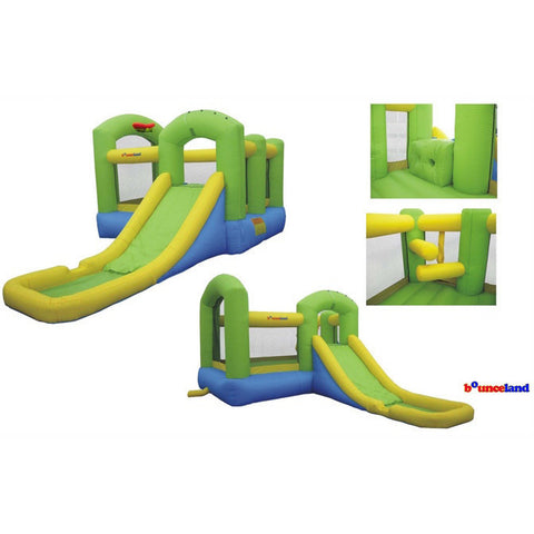 Bounceland Bounce N Splash Island Bounce House with Slide