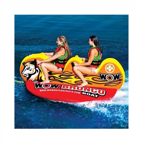 WOW Bronco Boat 2 Person Towable Tube - Tubes & Towables -  WOW Watersports - Splashy McFun Watersports