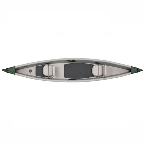 Sea Eagle Inflatable Canoe 16 top view.