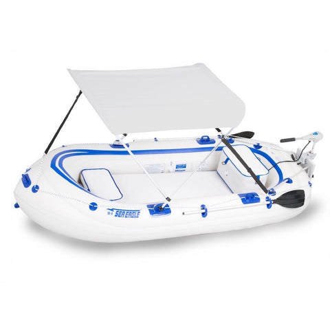 Sea Eagle Inflatable Boat Sun and Rain Canopy display on white background