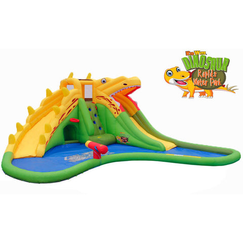KidWise Dinosaur Rapids Back to Back Water Park