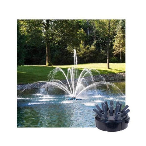 Airmax Double Arch and Geyser Premium Spray Fountain Nozzle