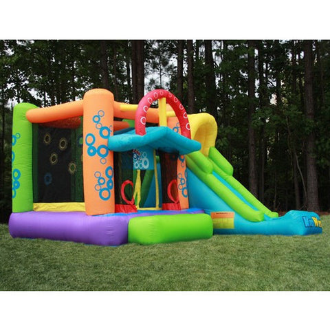 KidWise Double Shot Bouncer and Slide