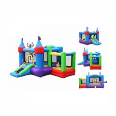 Bounceland Dream Castle Bounce House with Ball Pit