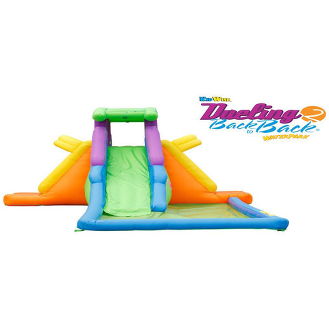 KidWise Dueling 2 Back to Back Water Slide