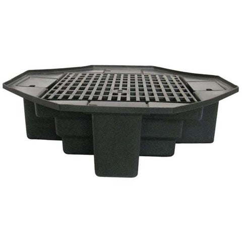 "Easy Pro FBL48 Eco-Series 48"" lightweight basin with bench grating"