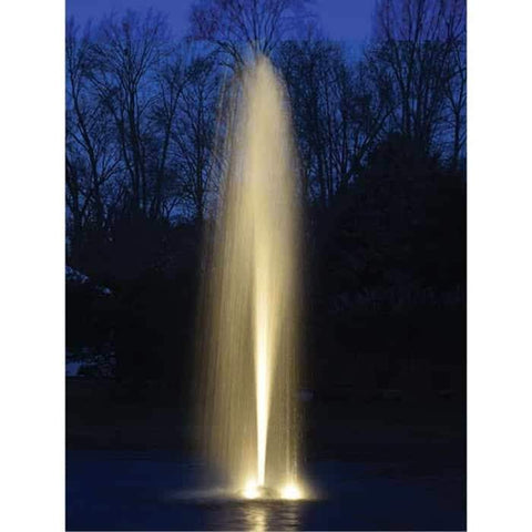 Easy Pro AF50 Aqua Fountain with Power Cord Actual Sample Night Evening View