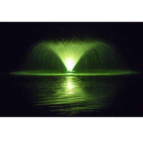Power House F1000F 1 Hp Aerating Fountain with Green Light Kit
