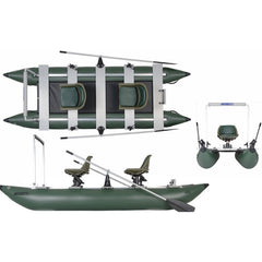 Sea Eagle 375 FoldCat Inflatable Pontoon Fishing Boat