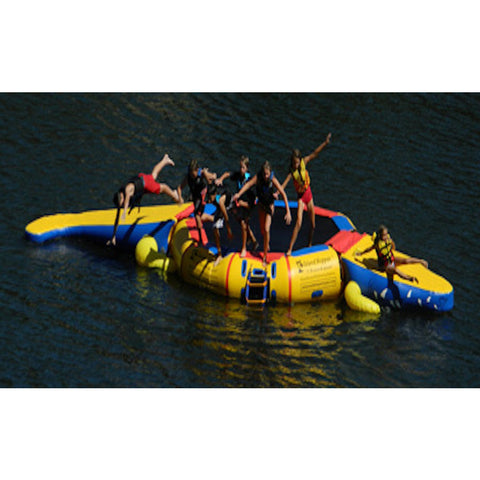 Island Hopper 15' Gator Monster Water Park - Water Trampoline -  Island Hopper - Splashy McFun Watersports
