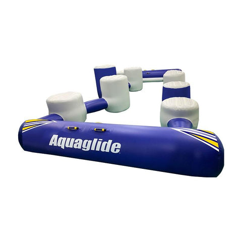 Aquaglide I-Hop 20 Obstacle Course Inflatable Water Park Attachment