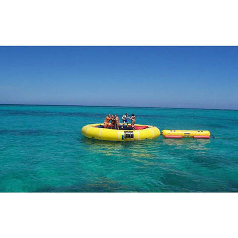 Island Hopper Island Runner Water Trampoline Attachment - Water Trampoline -  Island Hopper - Splashy McFun Watersports