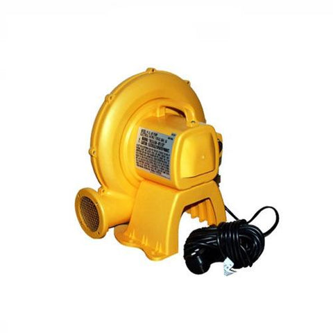 KidWise blower for bounce house.  Yellow blower with black cord.