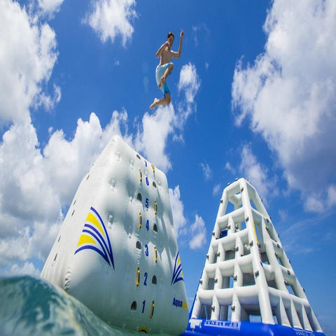 Aquaglide King of the Mountain Inflatable Water Slide