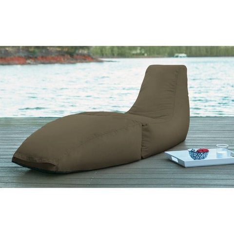 Prado Outdoor Chaise Lounge by Jaxx Bean Bags - Sunfield