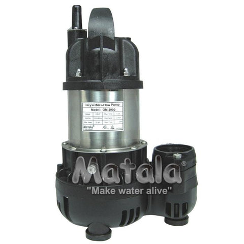 Geyser Max Flo Pump 1/5 HP by Matala
