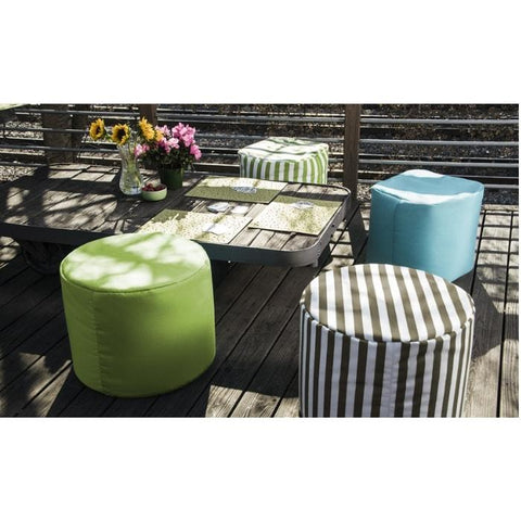 Spring Outdoor Pouf by Jaxx Bean Bags - Sunfield