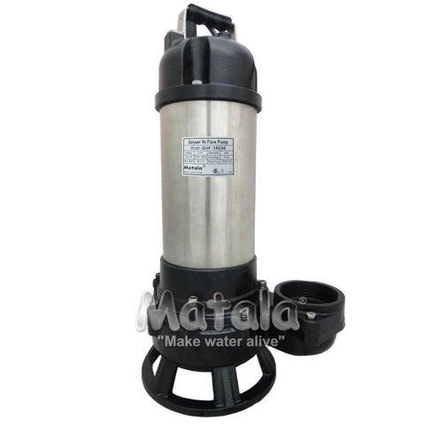 GeyserHi-Flow Pump 2 HP by Matala