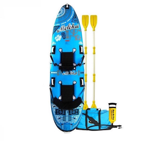 Rave Molokai 2 Person Inflatable Sit On Top Kayak