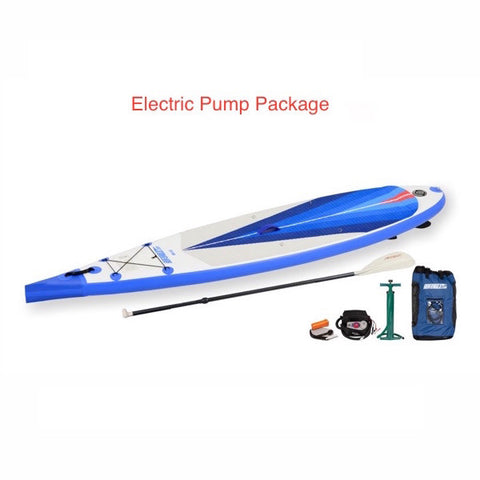 Sea Eagle NeedleNose 116 Inflatable SUP Electric Pump Package