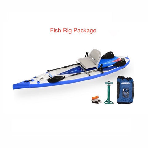 Sea Eagle NeedleNose 116 Inflatable SUP Fishing Rig Package