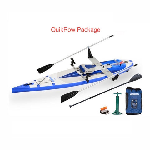 Sea Eagle NeedleNose 116 Inflatable SUP QuikRow Package