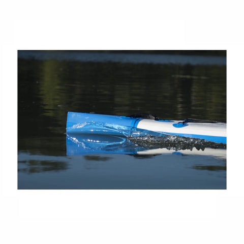 Sea Eagle NeedleNose 14 Inflatable SUP nose cutting through the water
