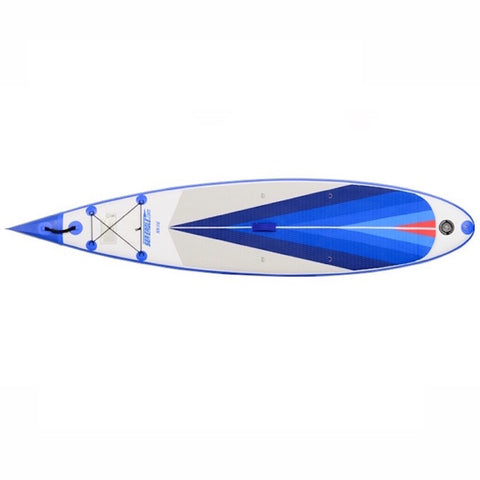 Sea Eagle NeedleNose 116 Inflatable SUP top view.