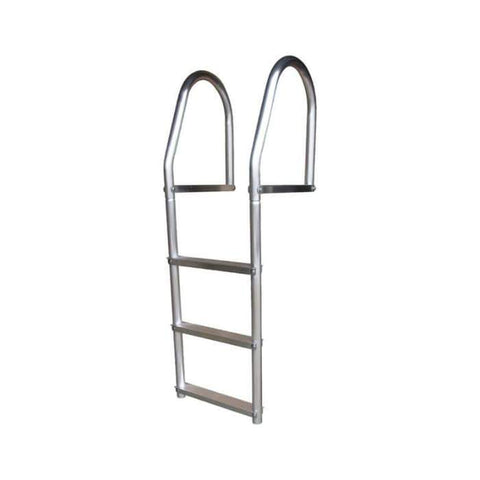 Dock Edge Fixed Eco - Weld Free Aluminum Swim Ladder for Dock