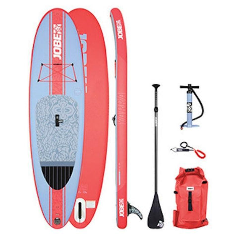 Jobe Yarra 10.6 Inflatable SUP with Paddle, Pump, Leash, and Bag