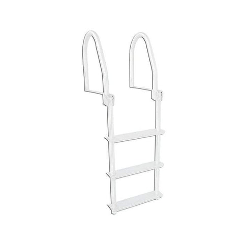Dock Edge Howell™ Galvalume™ Flip-Up Swim Ladder for Dock