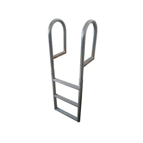Dock Edge Aluminum Fixed Swim Ladder for Dock