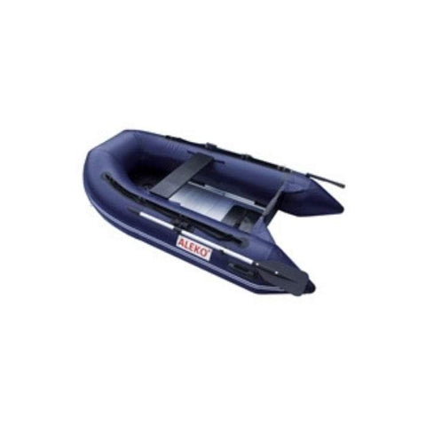 Aleko 12.5ft Inflatable Fishing Boat with Aluminum Floor