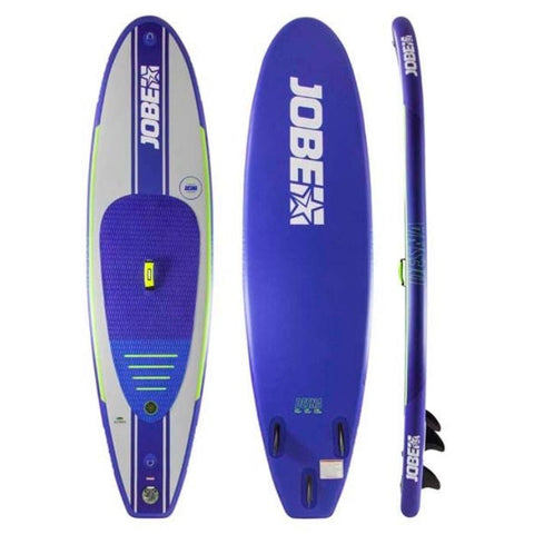 Jobe Desna 10.0 Yoga Inflatable Paddle Board Package with Paddle, Pump, Leash, and Bag