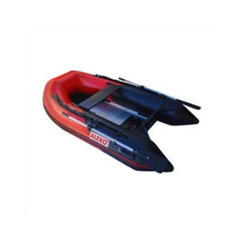 Aleko 10.5ft Inflatable Fishing Boat with Aluminum Floor