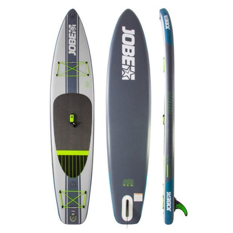 Jobe Duna 11.6 Yoga Inflatable Paddle Board Package with Paddle, Pump, Leash, and Bag