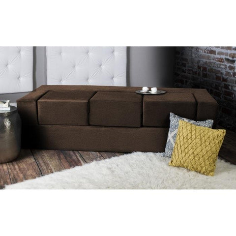 Swell Jaxx Zipline Modular Loveseat Queen Size Andrewgaddart Wooden Chair Designs For Living Room Andrewgaddartcom