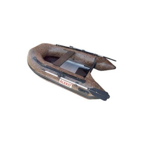Aleko 13.8ft Inflatable Fishing Boat with Aluminum Floor