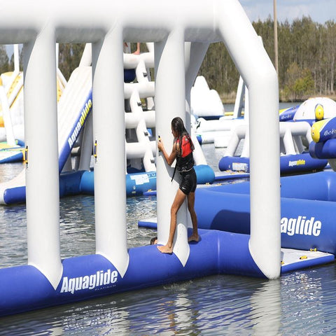 Aquaglide Neptune Inflatable Obstacle Course