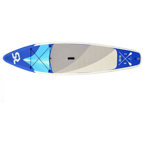 Side to Side view of the Rave Nomad 6 Inflatable SUP