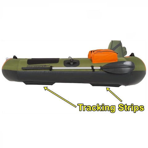 Sea Eagle PackFish7 Inflatable Fishing Boat tracking strips for enhanced performance.