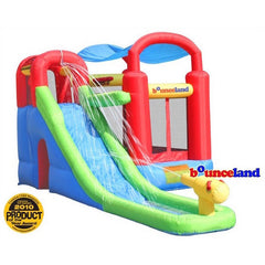 Bounceland Playstation Combo Bounce House and Water Slide - Bounce House -  Bounceland - Splashy McFun Watersports